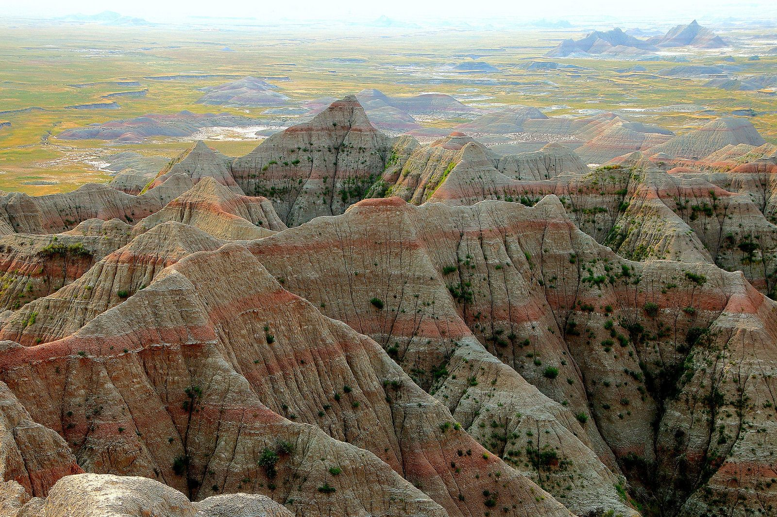 Геологические скальные образования Южной Дакоты