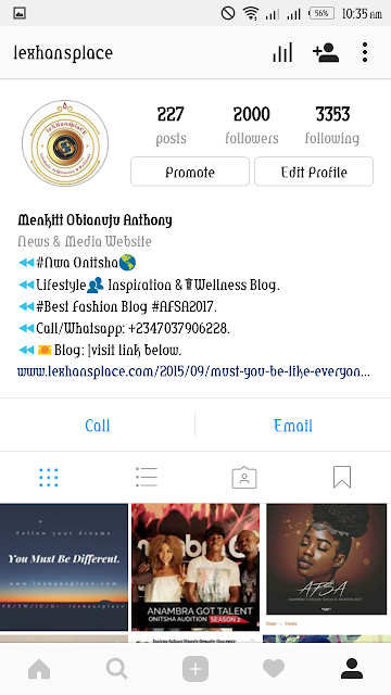 lexhansplace gets over 2000 instagram followers