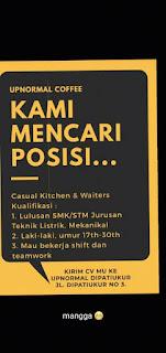 Loker Warunk Upnormal Dipatiukur Bandung
