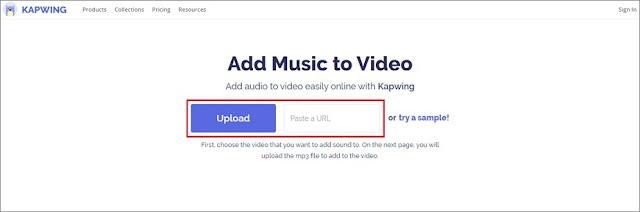 Menggabungkan Audio dan Video Secara Online