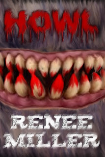 monstrous cartoon teeth covered in blood