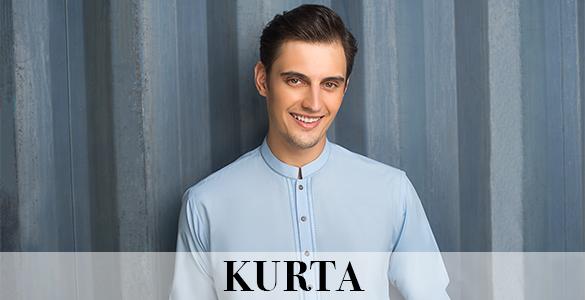 Gul Ahmed Men's kurta collection