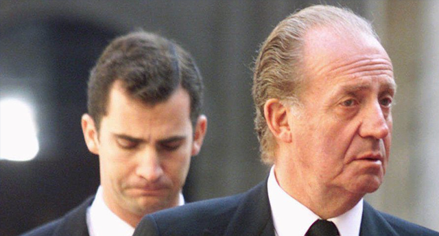 Juan Carlos I tuvo que abdicar
