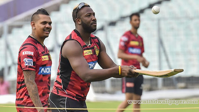 Andre Russell Practice Photos