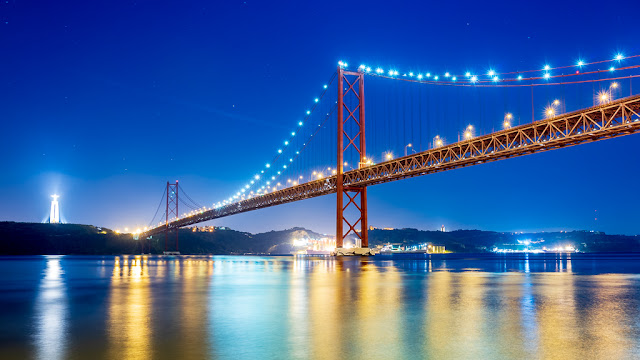 Un paseo por Lisboa - Puente 25 de Abril