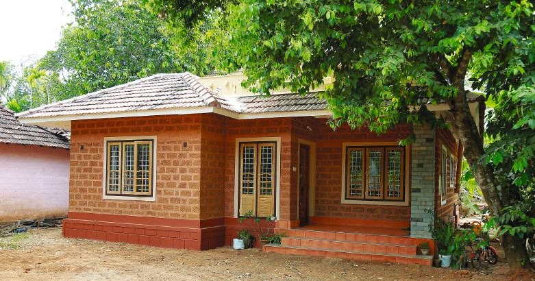 12 Lakh Home Design And Plan: Beautifully Designed 3 Bedroom Kerala Home In 1350 Sq Ft
