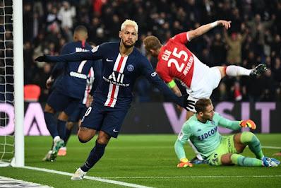 باريس سان جيرمان ضد موناكو