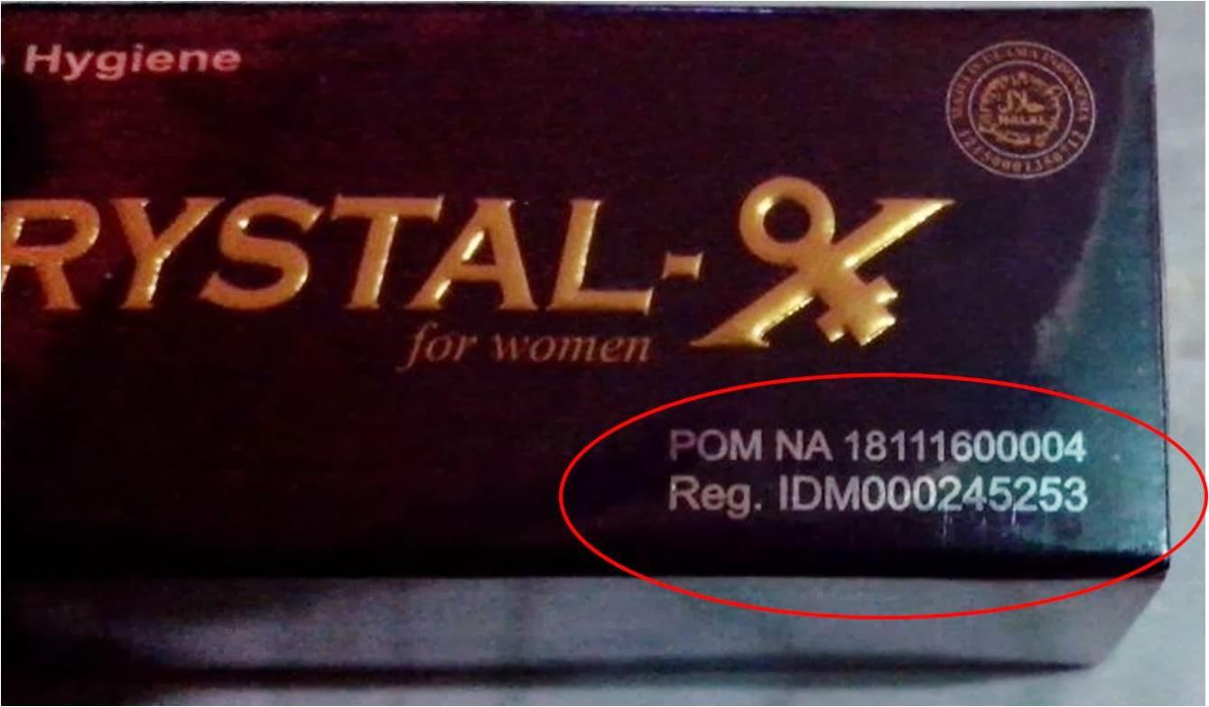 BPOM dan Nomor registrasi