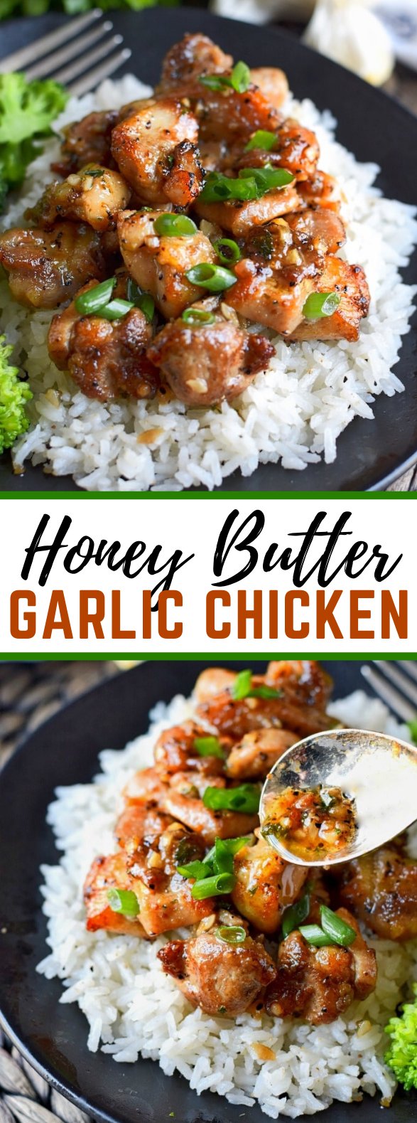 HONEY BUTTER GARLIC CHICKEN #dinner #easyrecipes