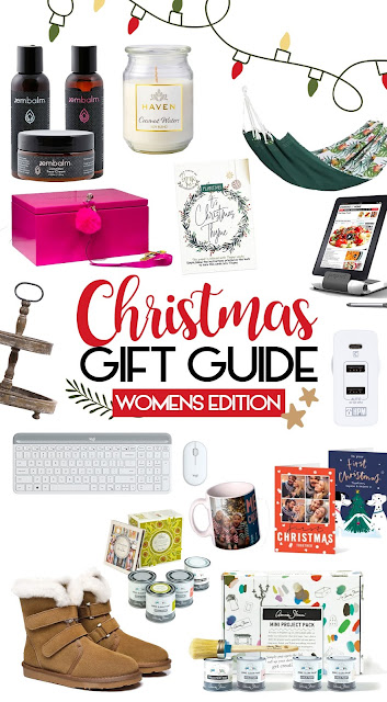 Women's Christmas Gift Guide 2020 - Gift Ideas for Women, Wife, Girlfriend, Daughter