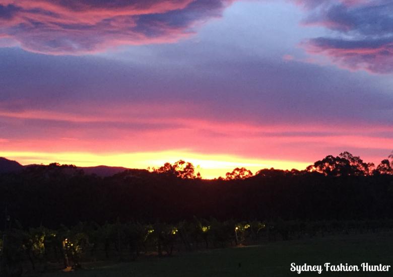 Hunter Valley Sunset - Spicers Vineyard