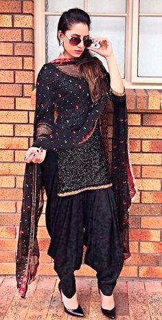 Attitude Girls in Salwar Suits