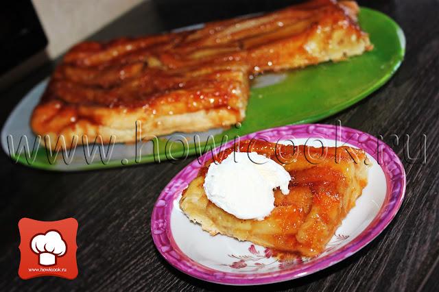 Рецепт банановый тарт татен от Джейми Оливера