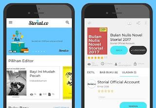 aplikasi baca novel gratis storial.co