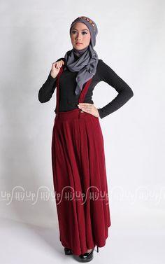 Gaya Hijab Casual Yang Modern