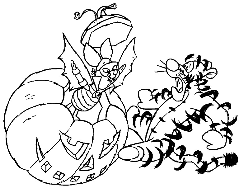 - Disney Coloring Pages: Halloween Coloring Pictures