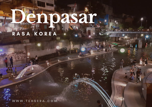 Wisata Kali ala Korea di Bali