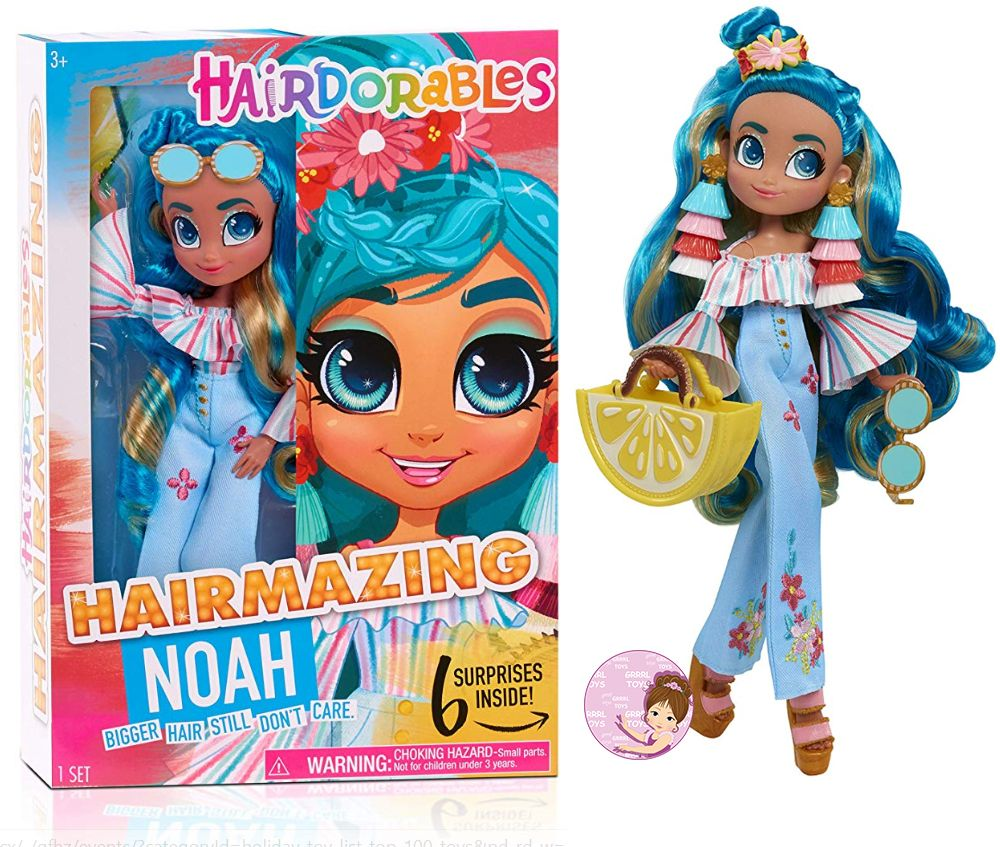 Noah Hairmazing fashion doll series 1