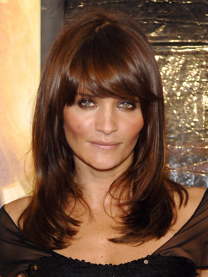 Rose Byrne looks so elegant with this chocolate brunette hair colour ...