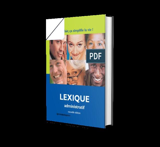 Vocabulaire administratif usuel pdf: un livre PDF
