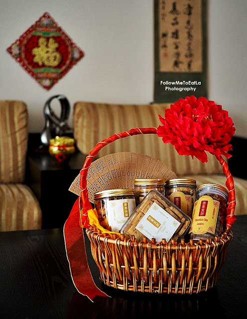 UPPERHOUSE BANGSAR Kitchen & Dessert Bar Chinese New Year Cookies Gift Baskets