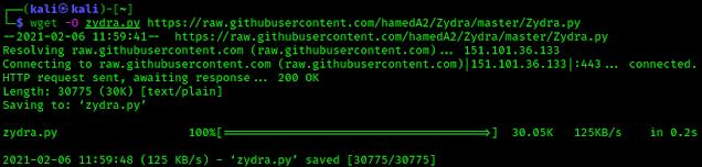 zydra python script download