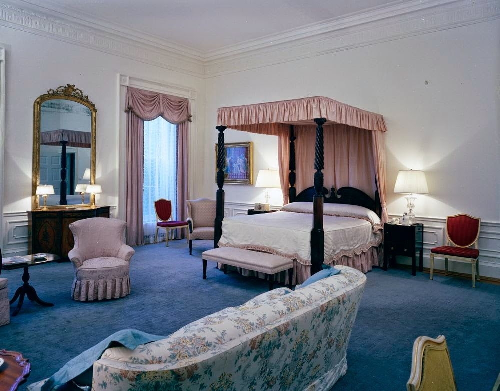 View Of The Queens Bedroom Also Called Rose Guest Room White House Washington D C