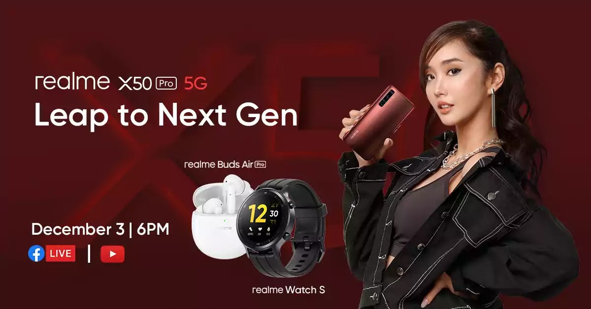 realme X50 Pro 5G with the latest AIoT devices from realme