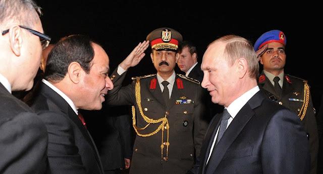 Forças Armadas do Egito e os seus homólogos russos realizaram exercícios militares conjuntos em solo egípcio, pela primeira vez