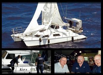 www.fertilmente.com.br - Kaz II e o misterioso sumiço de sua tripulação, especula-se que tenham caído em alto mar ou seja obra de Piratas.
