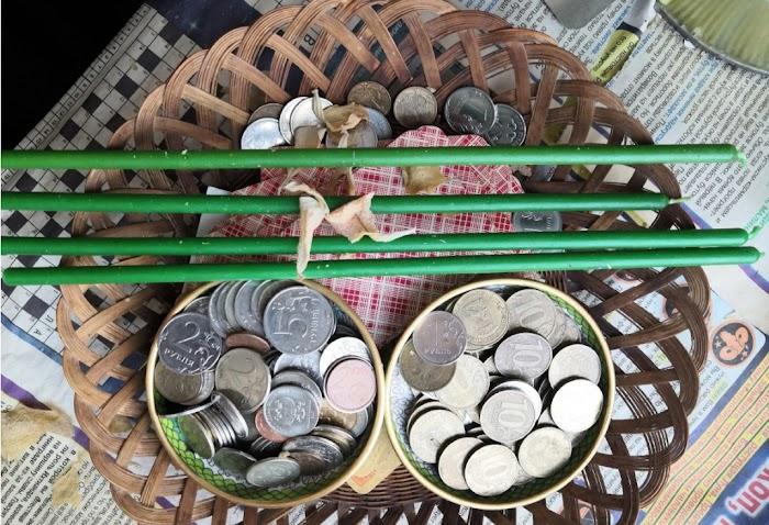 Заговорить монетку на притяжение денег