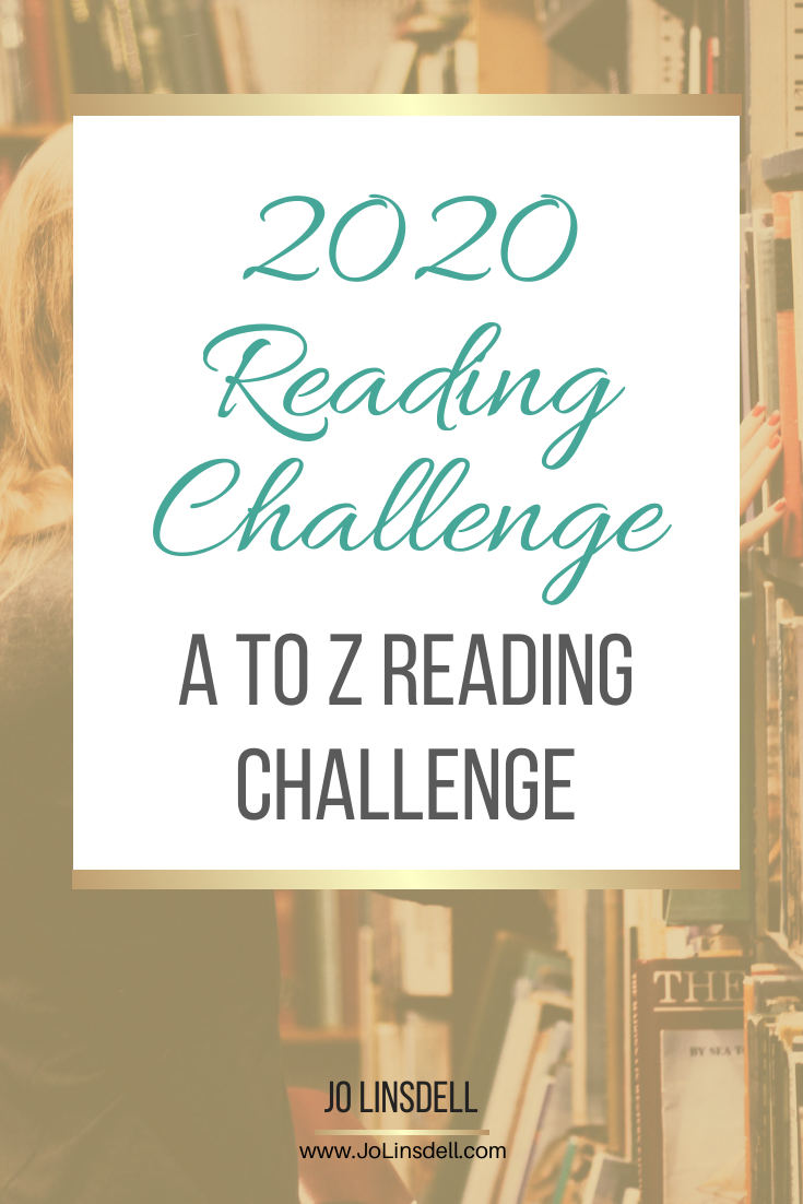 2020 Reading Challenge: A To Z Reading Challenge #AtoZReadingChallenge #AtoZChallenge2020