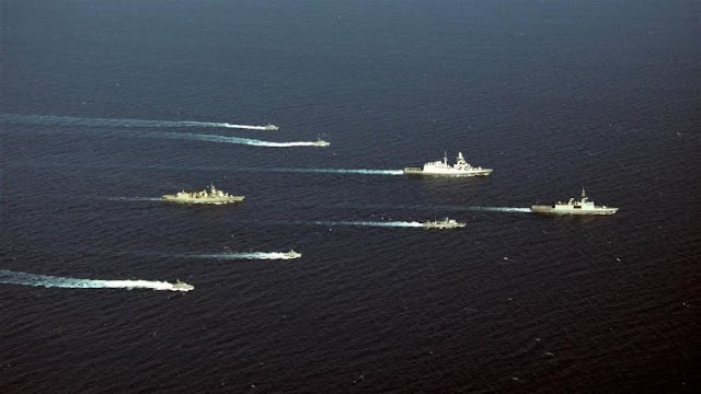 Τετραμερής ναυτική συνεργασία Ελλάδας, Κύπρου, Γαλλίας, Ιταλίας στην Ανατ. Μεσόγειο