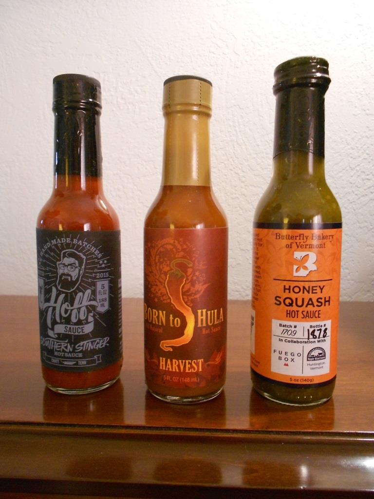 Fuego Hot Sauce Box November 2017