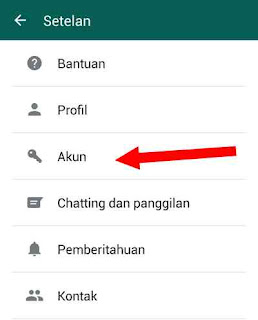 setting whatsapp