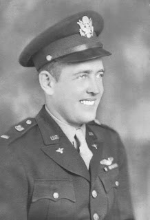 Carl Ungerer in Air Force Uniform, WWII