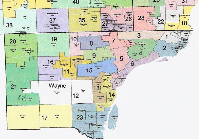 The Western Right Michigan Redistricting Official