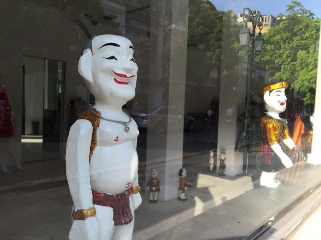 water-puppet 水上人形劇2
