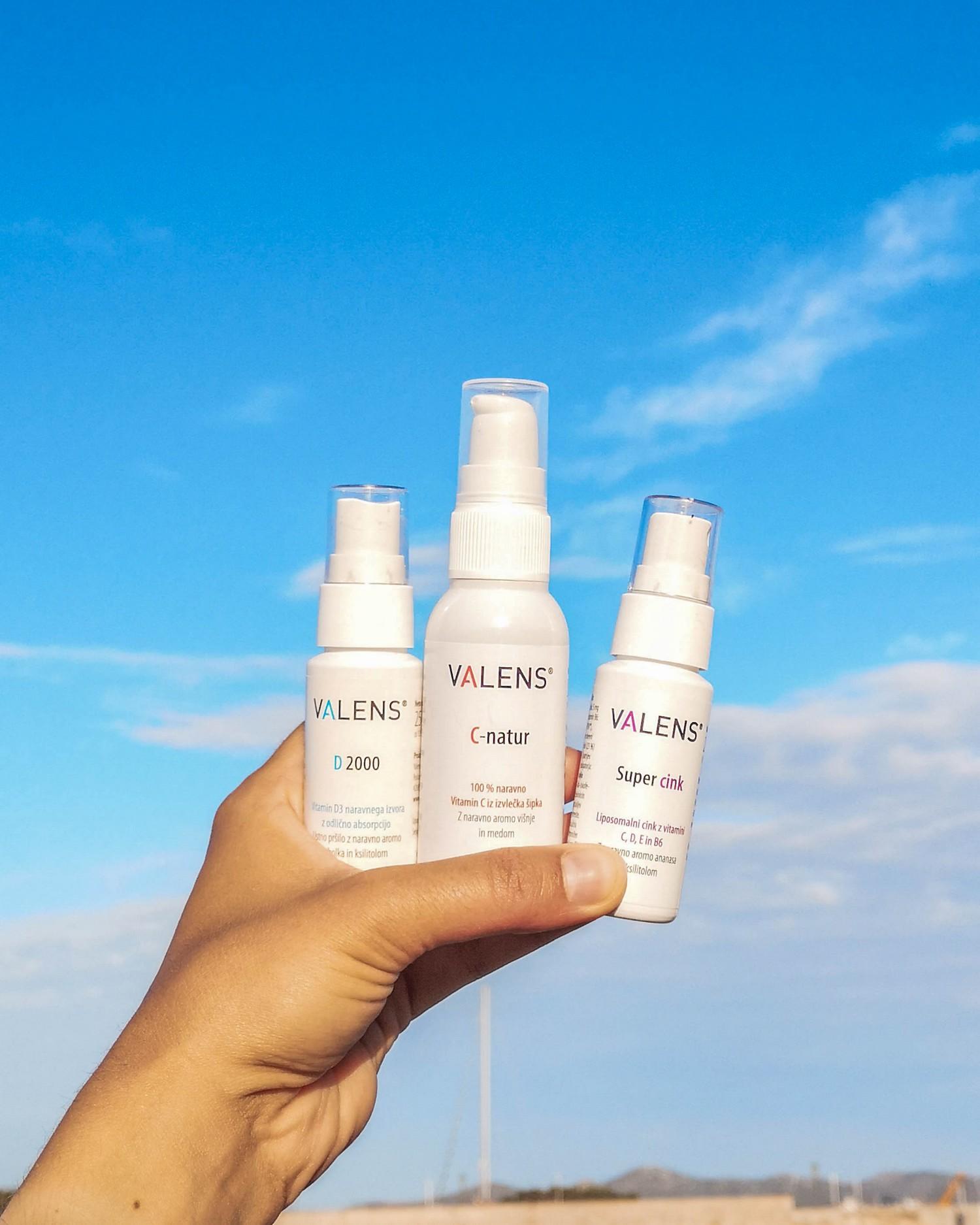 Valens vitamini za boljše počutje
