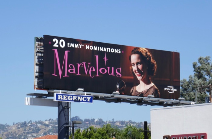 Mrs Maisel 20 Emmy nominations billboard