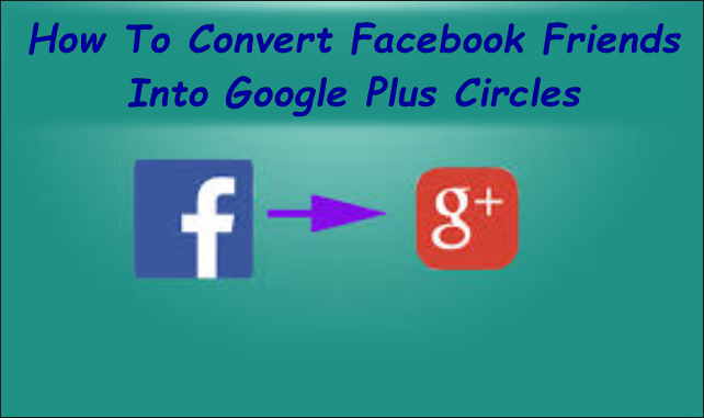 how to make circles in google plus