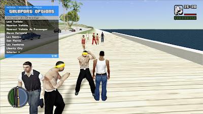 GTA San Andreas Cheat Menu RZL Trainer Mod