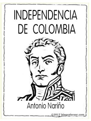 coloear Antonio Nariño:  20 julio
