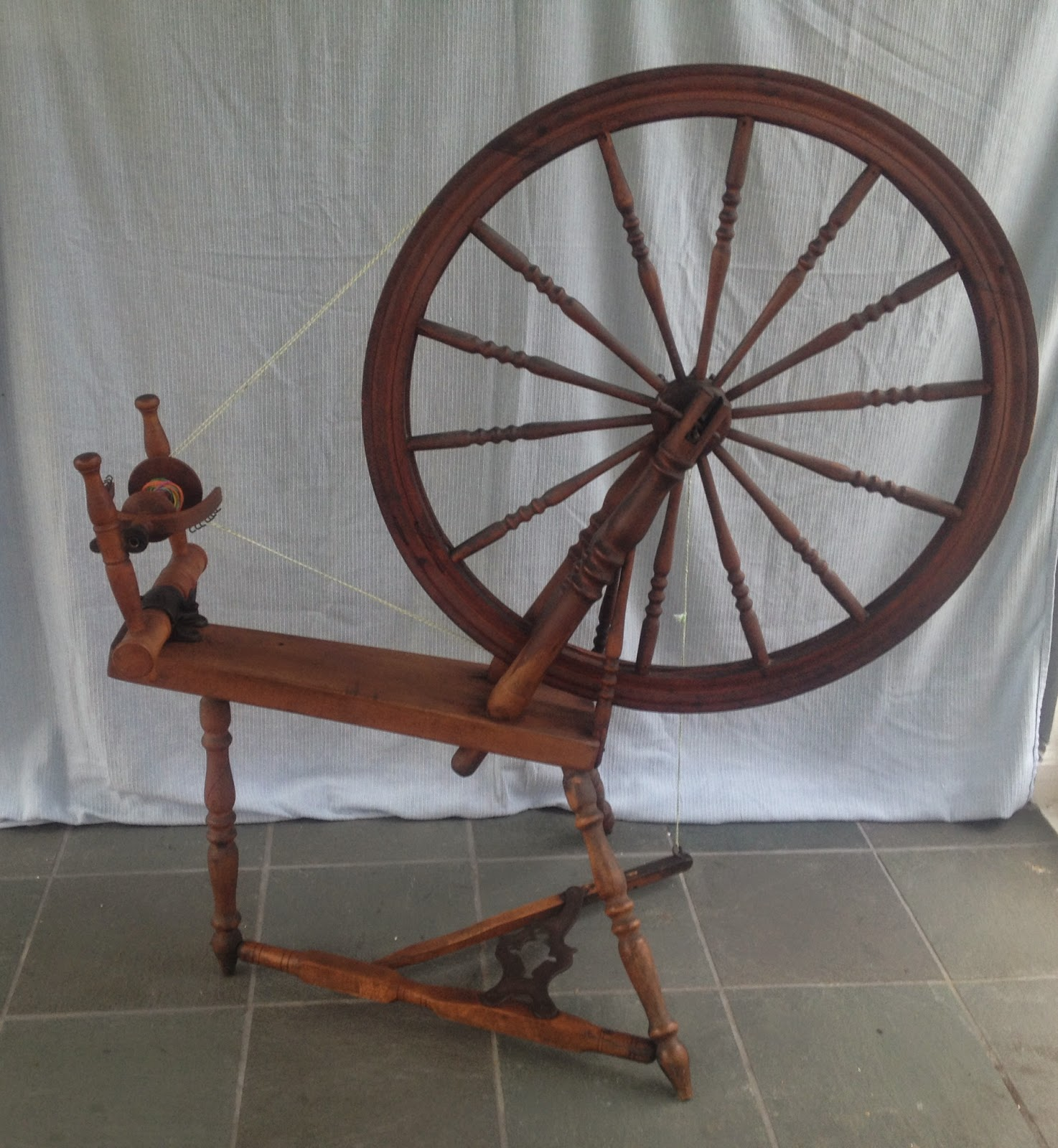 Louie Represents The Rich Tradition Of Spinning Wheel Manufacture In Quebec From 1870 S To 1930 Known As A Canadian Production
