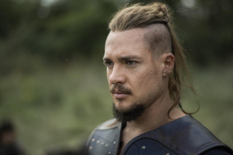 Alexander Dreymon as Uhtred of Bebbanburg in The Last Kingdom (Netflix)