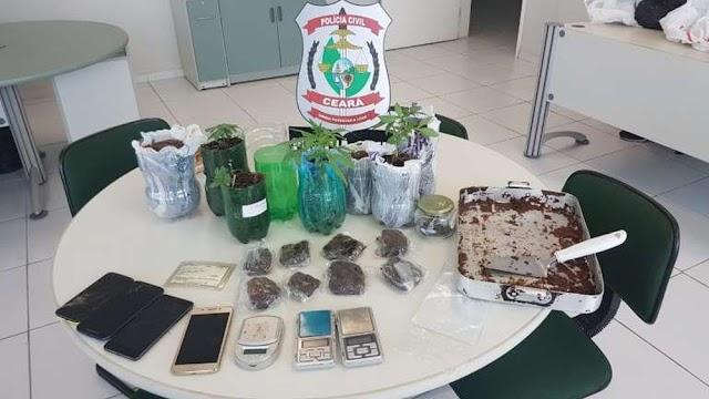 Estudante de gastronomia é preso suspeito de produzir e vender brownies com recheio de maconha em Fortaleza