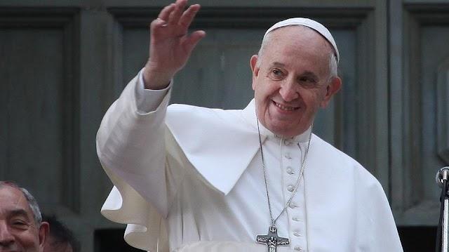 Rendhagyó audienciát tartott Ferenc pápa