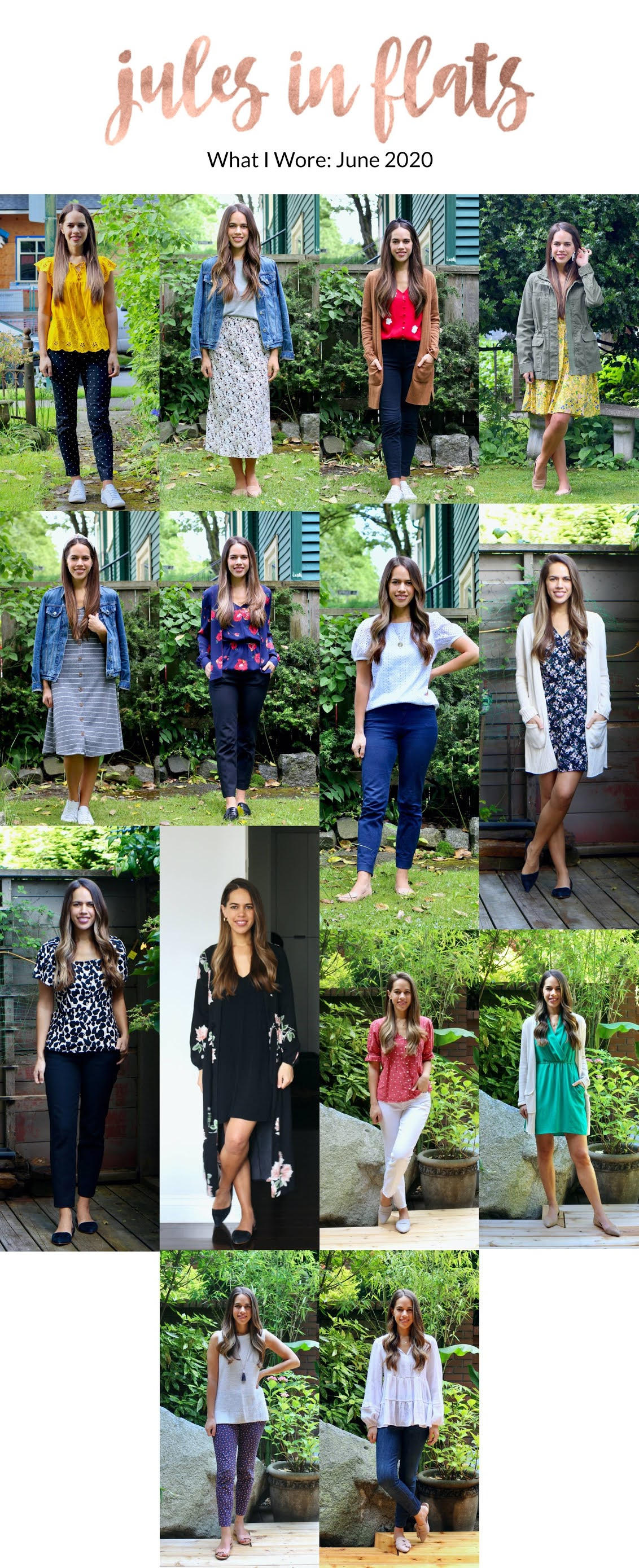 Jules in Flats - Workwear Outfit Ideas for June