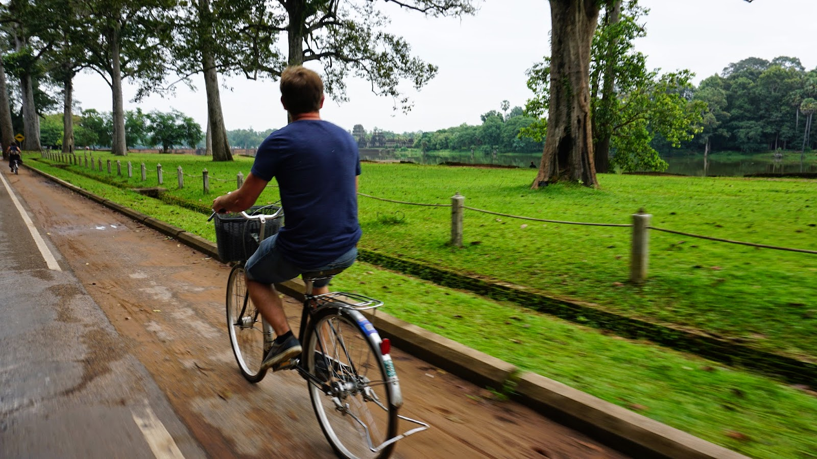 Cycling is a great way to get around Angkor at your own pace