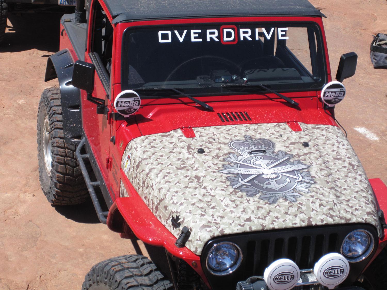 Overdrive Get S A New Hood Wrap Eminent Custom Graphics Inc